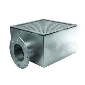 Main drain 400x400 mm, DN 125 mm, for liner