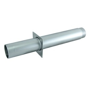"Wall conduit 1,5"" 350 mm for tiled pools, AISI-316L"