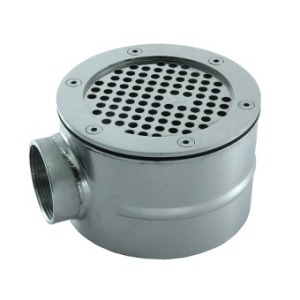 Main drain d 154 mm, for liner (AISI 316)
