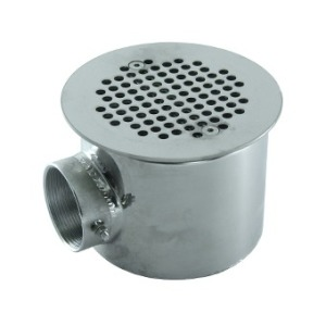Main drain d 154 mm, for tiles