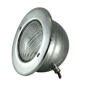 Underwater light 300 W for tiled pools