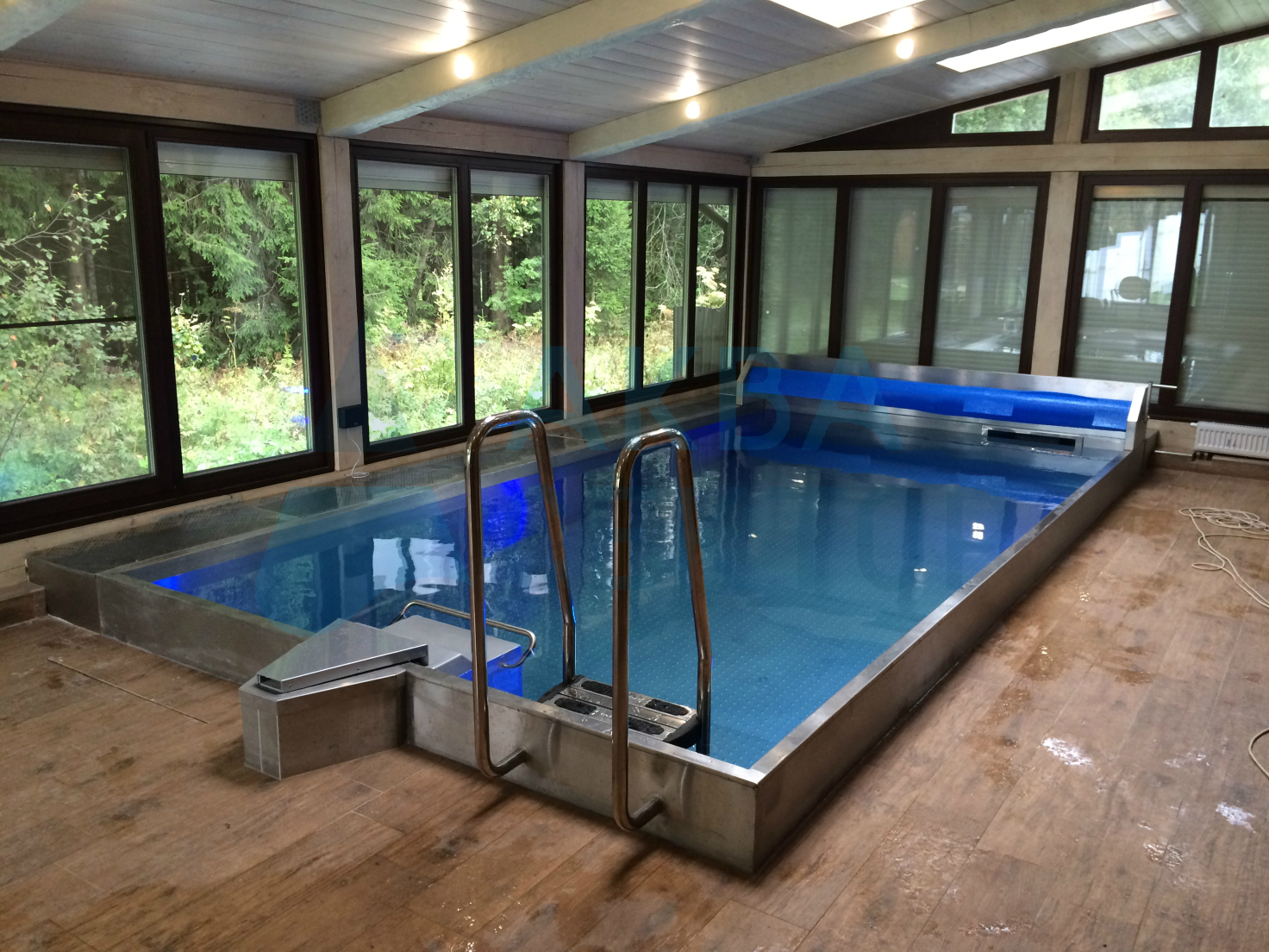 Indoor Skimmer Pool 6х3