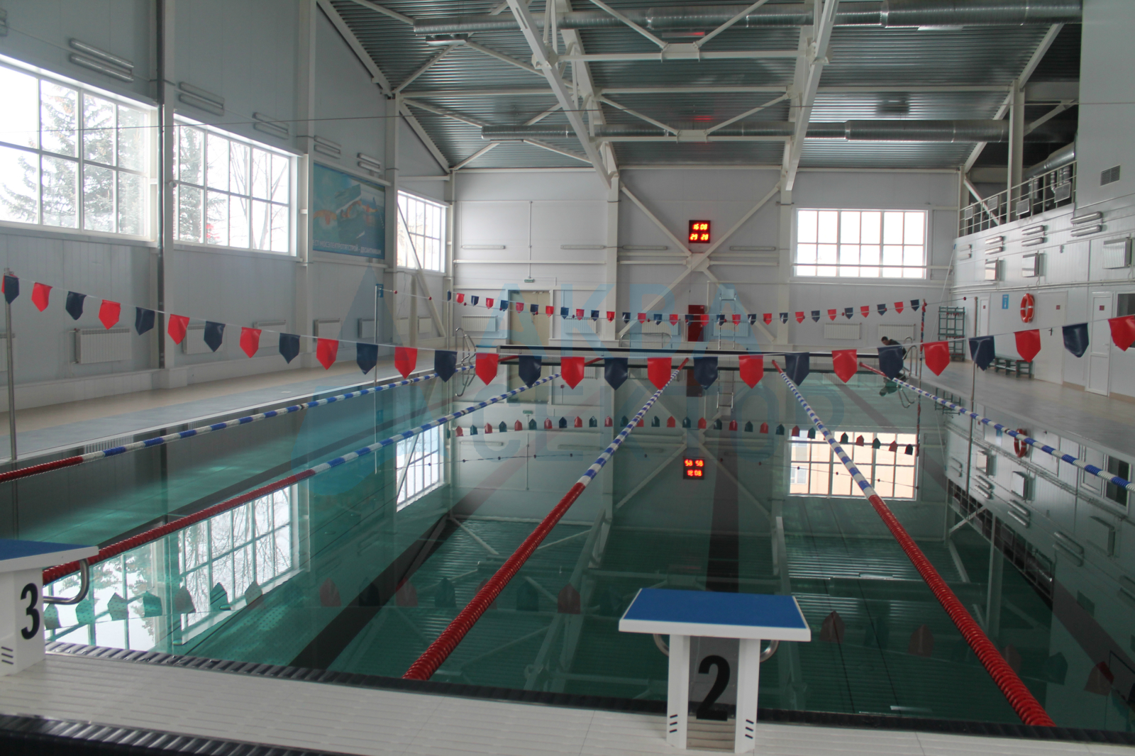 Sport swimming pool 25х11